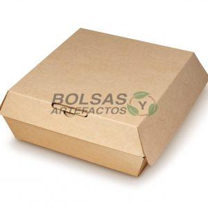 Caja Almeja para comida 8 X 8 Pulgadas